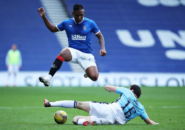 Morelos 'holding Rangers to ransom' over contract