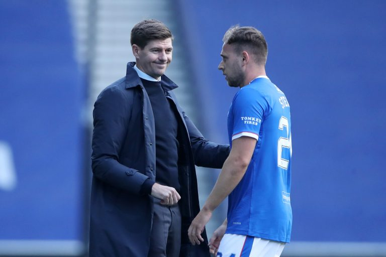Stevie probably just doesn't rate Rangers man