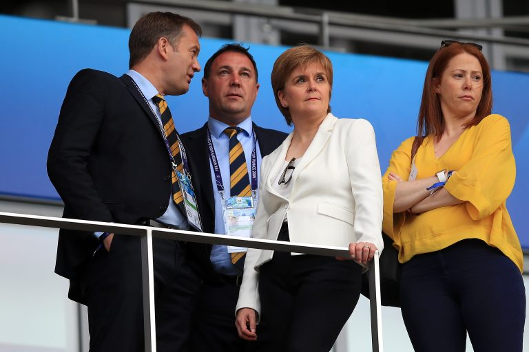 Sturgeon's words on Rangers come as total shock
