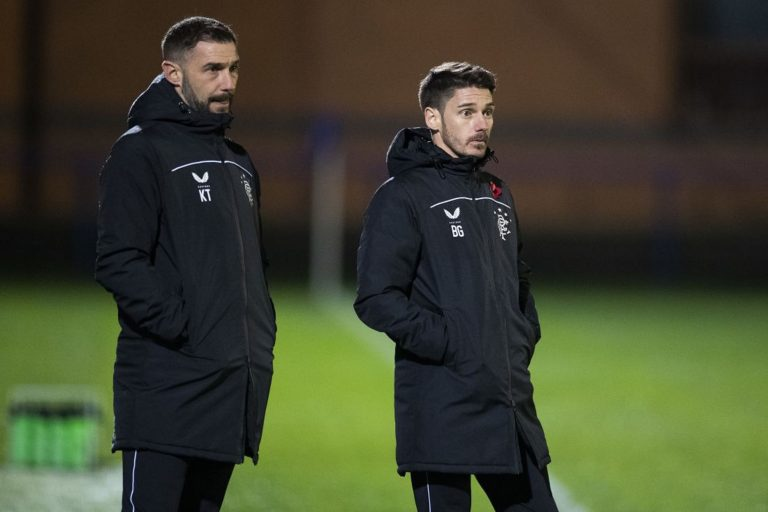Rangers attacker's absence spells a worrying sign