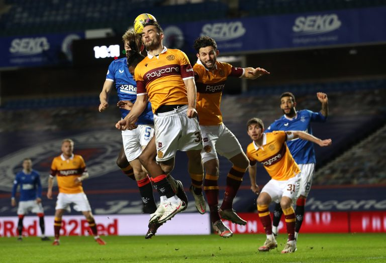 Motherwell and their 'anti-football' at Ibrox