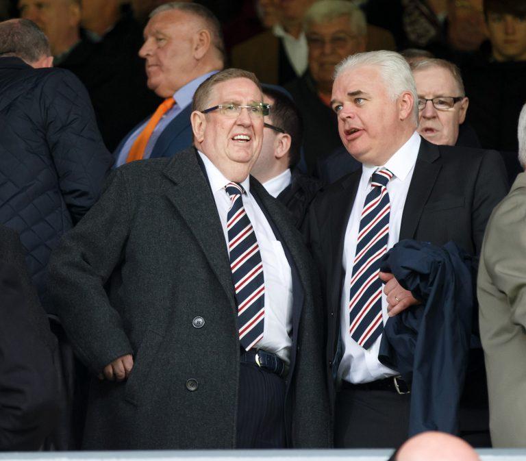 Rangers 'confirm' Douglas Park as chairman