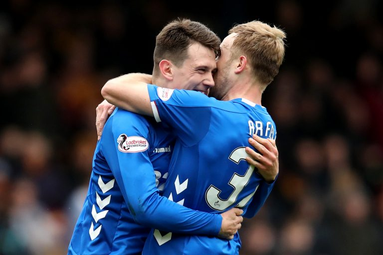Rangers duo in race against time…