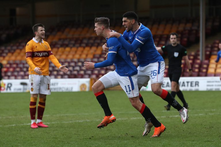 """""""Off his best – 6"""" – Rangers player ratings at Fir Park"""