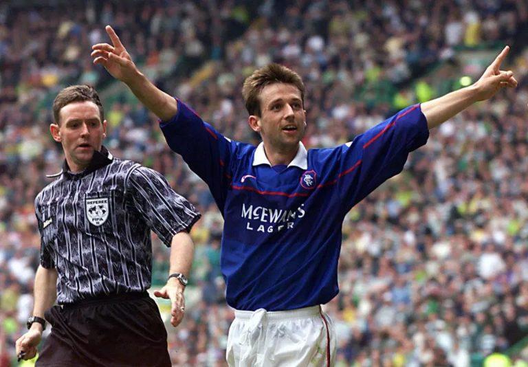 Rangers winning 55 at Parkhead