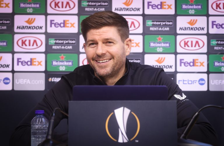 On-fire Rangers man – but Stevie couldn't care less