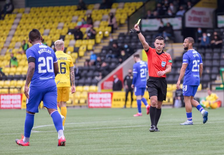 Shock SFA ban stat shows referees' true colours…