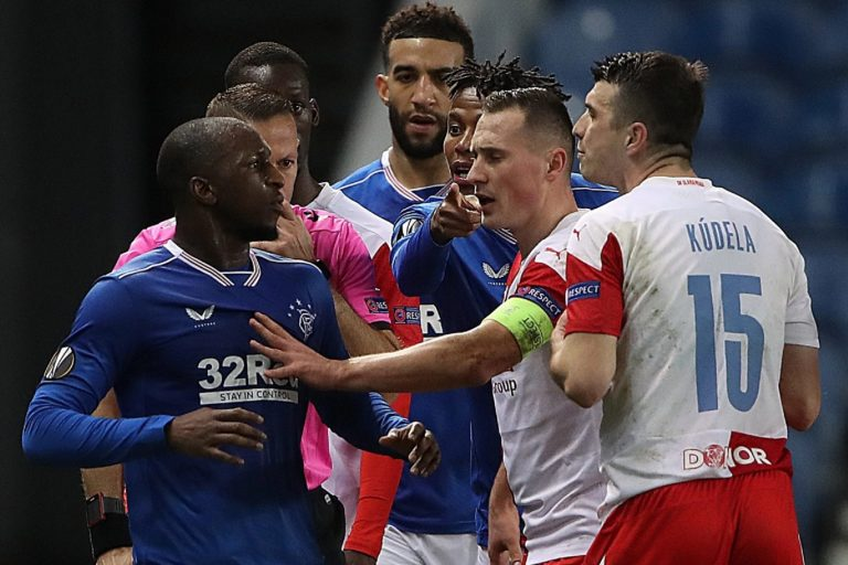 Praha hit out at Rangers with new racism slur