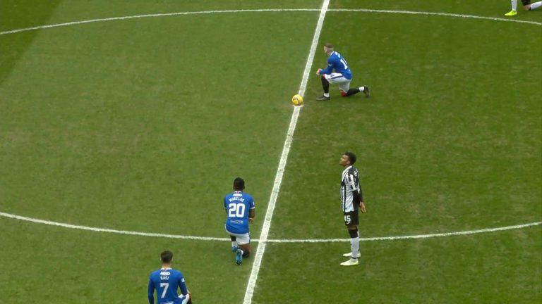 Rangers & 'The Knee'….