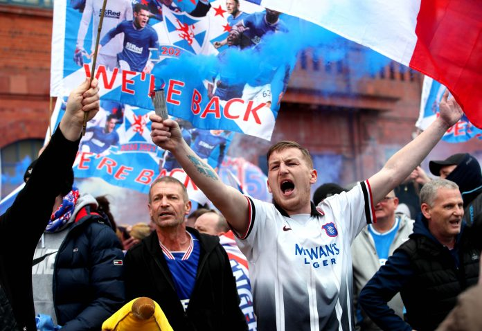 Rangers Celtic Roy Keane title champions Ibrox fans Scotland Liverpool Steven gerrard