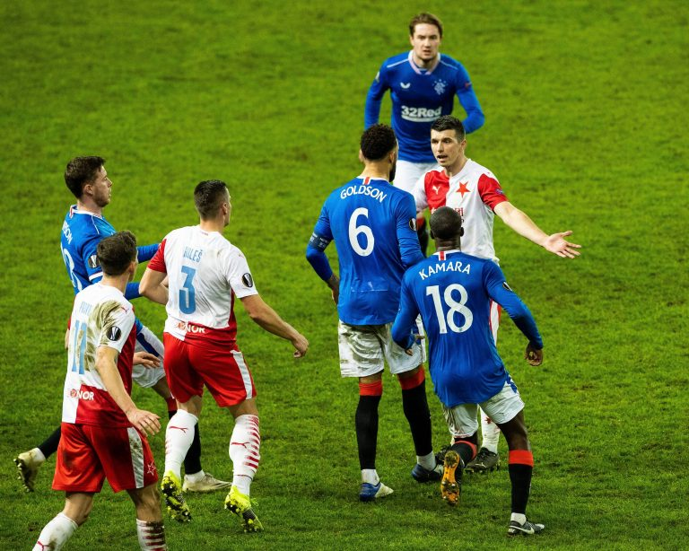 Praha have attacked Rangers again, and it's a DOOZY