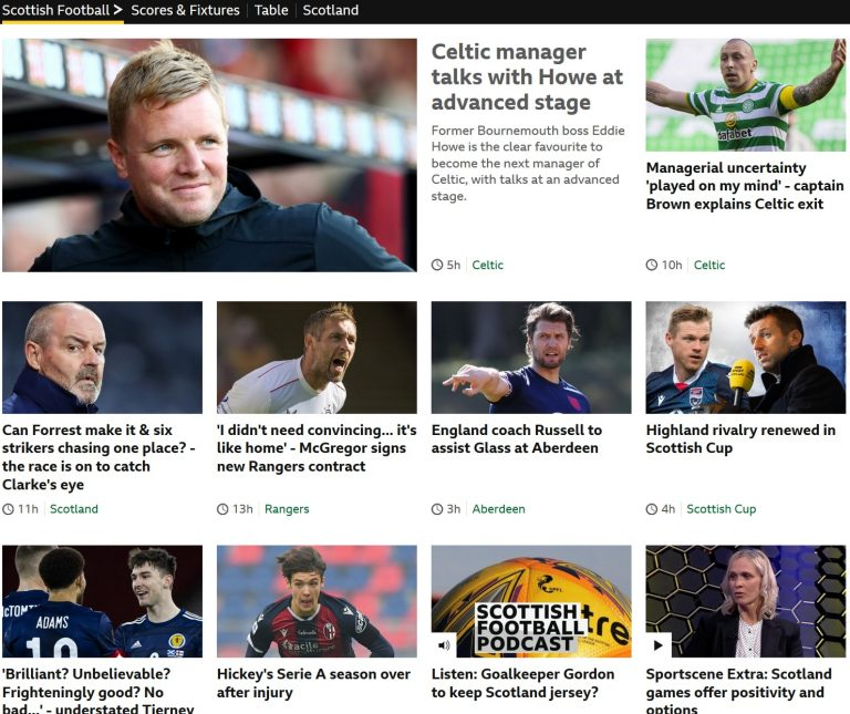 BBC agenda clear amidst Celtic crisis as Rangers ignored