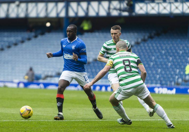 Press engage in 'dirty tricks' over Rangers' Glen Kamara
