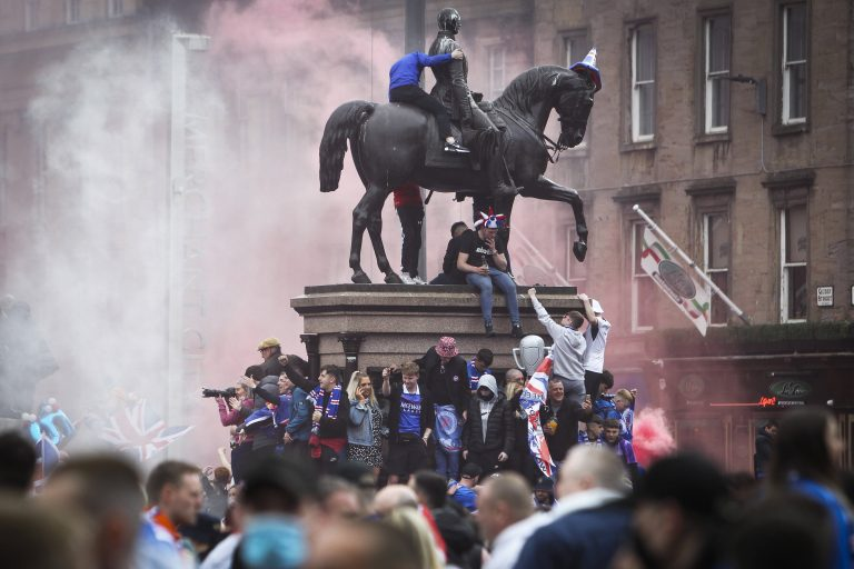 Media attacks have nothing to do with Rangers' 'crowd trouble'