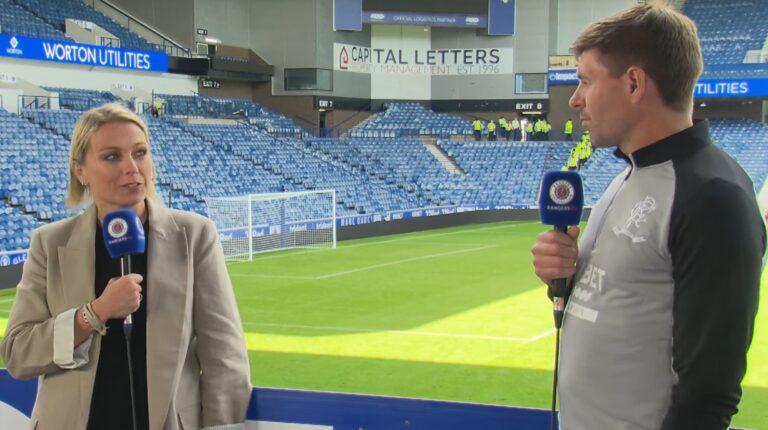 Steven Gerrard announces two massive changes for 56