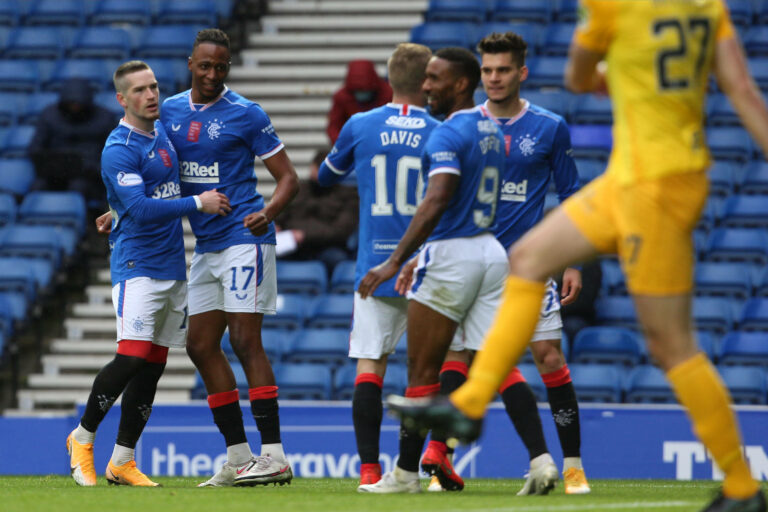 Rangers fans mystified over absence of star duo