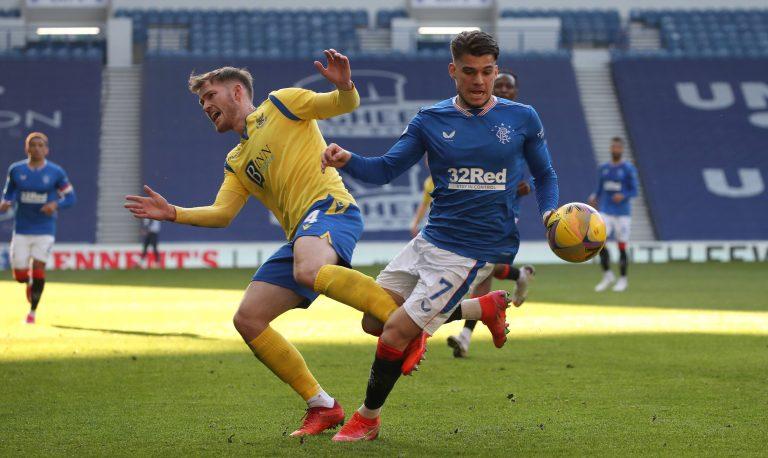Rangers make decision over Ianis Hagi