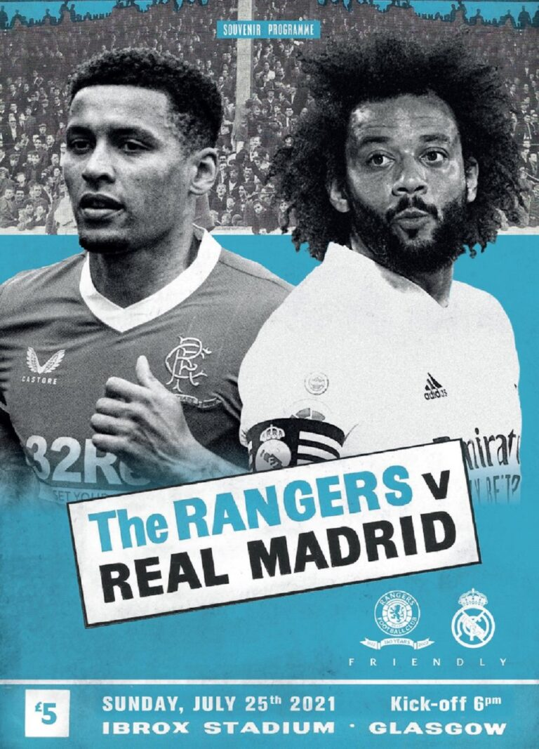 """""""Three quarters of a billion"""" as Rangers face Real Madrid"""