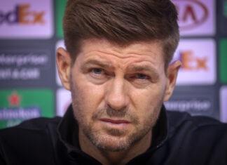 Steven Gerrard waits for Malmo