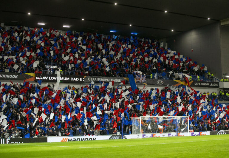 Criticism and praise – the principles of supporting Rangers