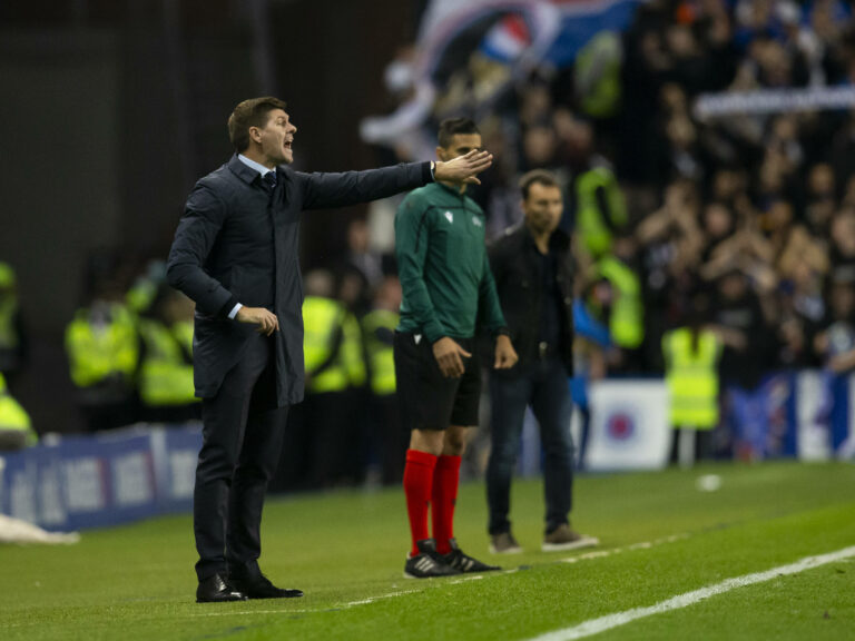 Stevie absolutely slams his Rangers men – pulls no punches