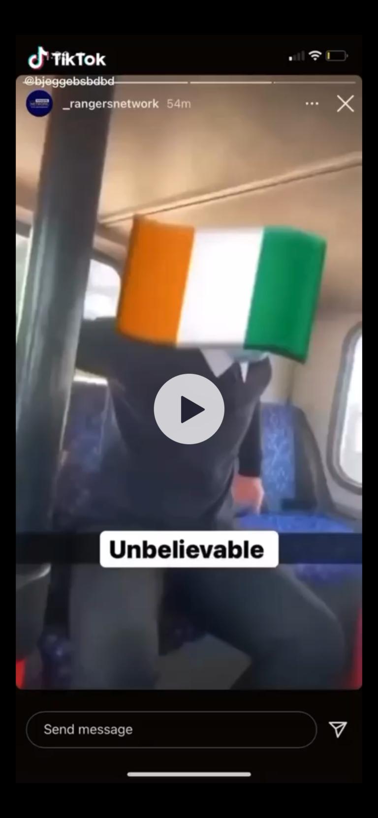 Kamara racism attack as Celtic fan smears Rangers man
