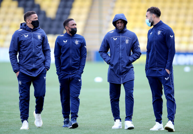 Rangers planning for life after Goldson and Kamara