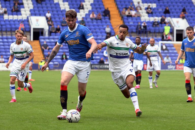 Simpson omission from UEL squad makes Ibrox exit surprising