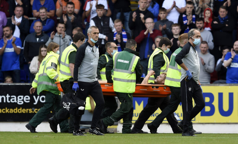 Stevie reveals bad news on key Rangers man