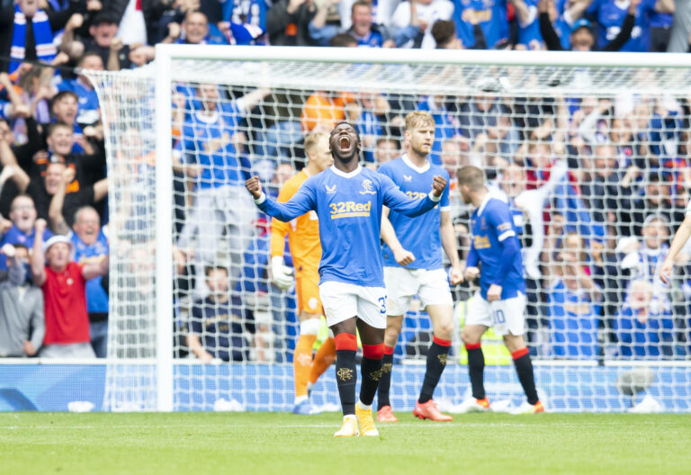 On off on off as Rangers striker pulls out