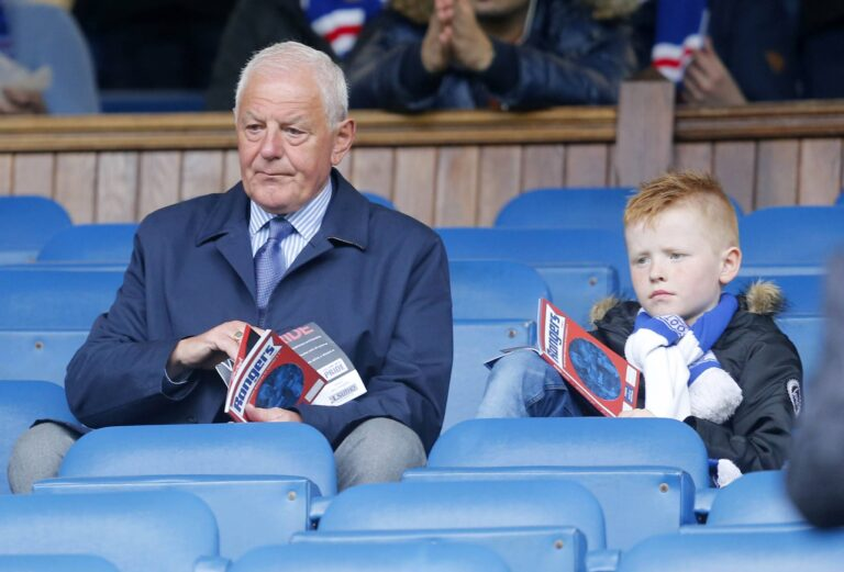 Walter Smith's return brings smile to Rangers