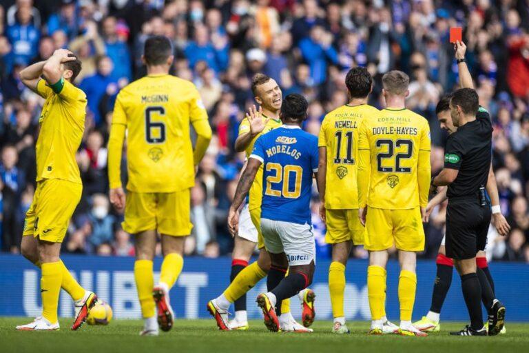 Rangers under pressure after Hibs struggle