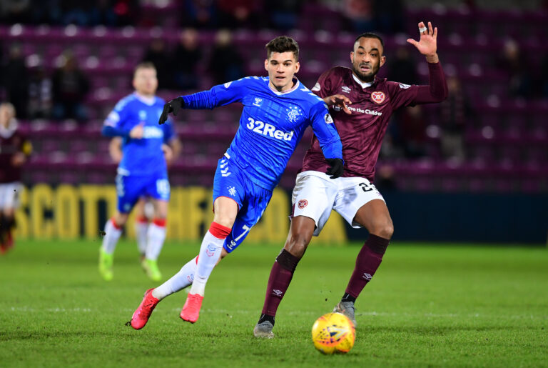 Title clash imminent as Hearts determined to scalp the Rangers